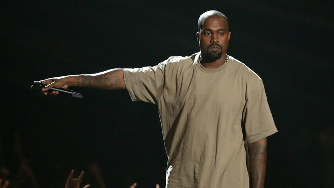 Kanye West siap maju sebagai calon Presiden AS (AP/Matt Styles)