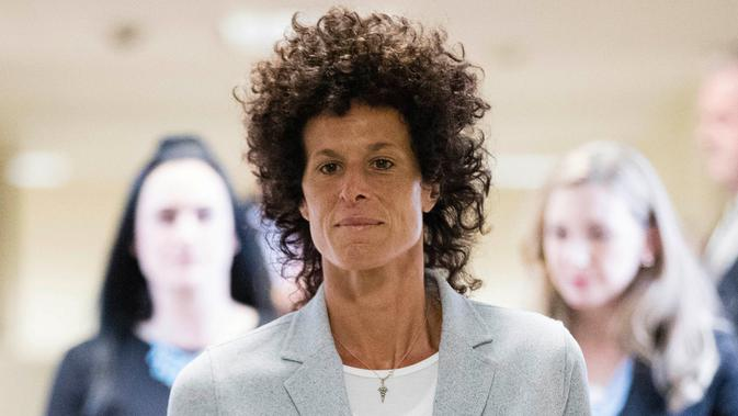 Andrea Constand. (AP Photo/Matt Rourke, Pool)