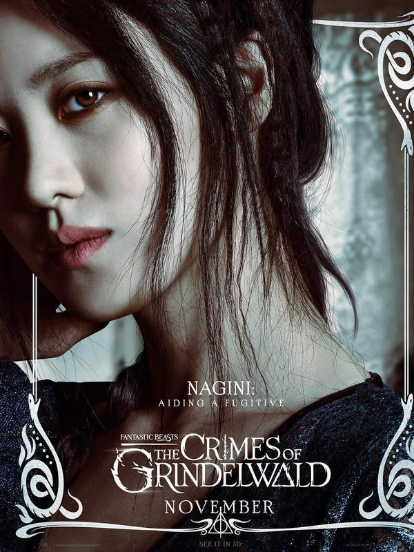Sosok Nagini yang diperankan Claudia Kim di  Fantastic Beasts: The Crimes of Grindelwald (Warner Bros)