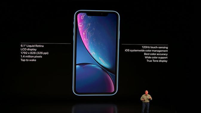 Apple umumkan iPhone XR, iPhone terjangkau di gelaran Apple Event, Rabu (12/9/2018). (Foto: Apple)