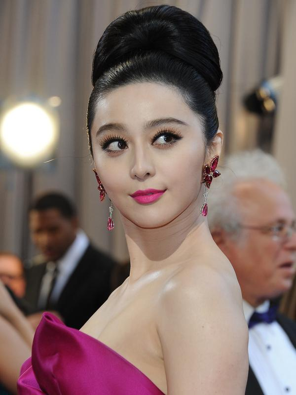 Fan Bingbing. (AFP PHOTO/VALERIE MACON)