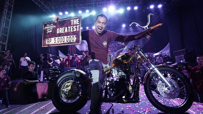 Denny Shooter, Pemenang The Greatest Bike 2018