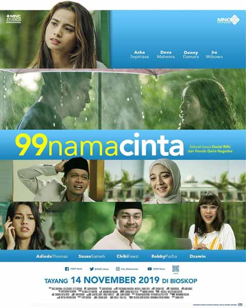 Film Bioskop November 2019 - 99 Nama Cinta