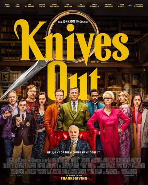 Film Bioskop November 2019 - Knives Out
