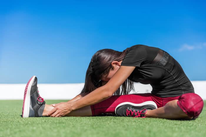 stretching for hamstring
