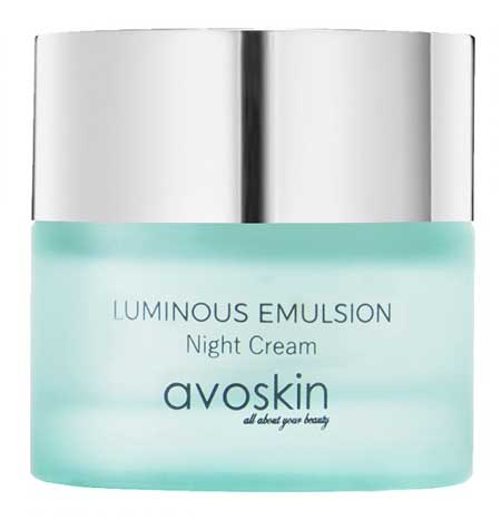 Krim Malam Terbaik - Avoskin Luminous Emulsion Night Cream